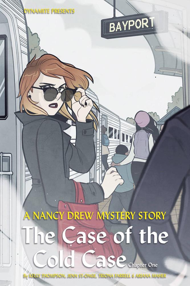 Nancy Drew #1 Jenn St-Onge cover