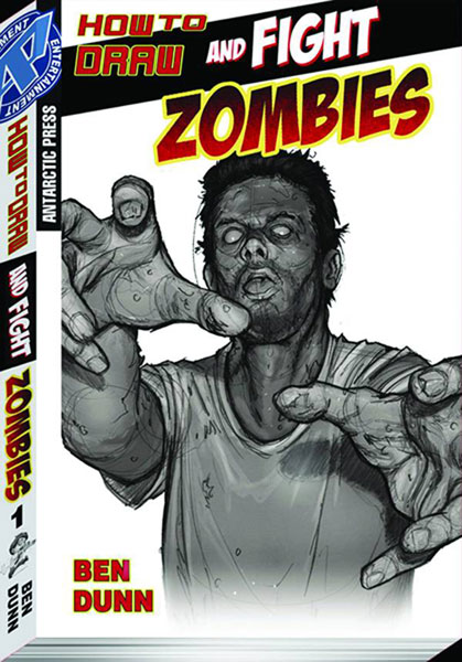 Image: How to Draw & Fight Zombies Pocket Manga Vol. 01 SC  - Antarctic Press