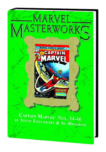 Image: Marvel Masterworks Vol. 173: Captain Marvel Nos. 34-46 HC  - Marvel Comics
