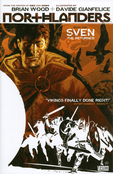 Image: Northlanders Vol. 01: Sven the Returned SC  - DC Comics