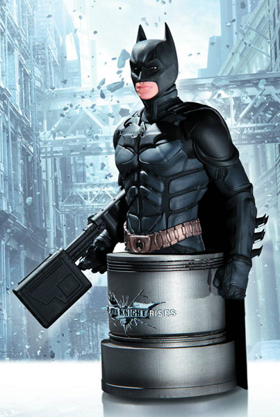 Dark Knight Rises Bust: Batman with Emp Rifle