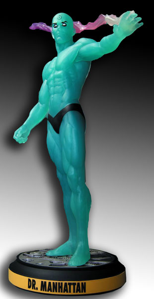 Before Watchmen Statue: Dr. Manhattan