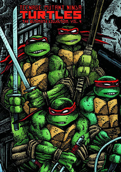 Image: Teenage Mutant Ninja Turtles Ultimate Collection Vol. 04 HC
