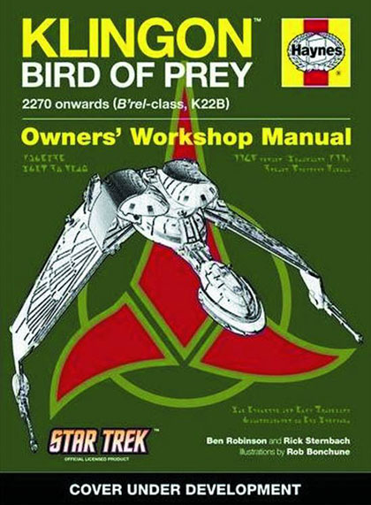 Image: Star Trek Klingon Bird of Prey Owners' Workshop Manual HC