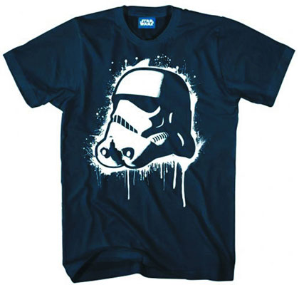 Image: Star Wars: Pop Trooper PX T-Shirt Navy  (XL)