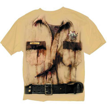 Image: Walking Dead: Rick Costume T-Shirt  (XXL)