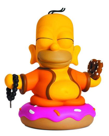 Simpsons Kidrobot Collectible Art Vinyl Figure Homer