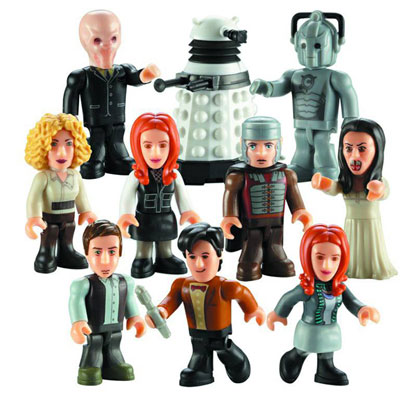 Image: Doctor Who Character Building 36-Piece Series 02 Mini-Figure Display