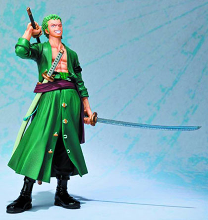 Image: One Piece Figuarts Zero Action Figure: Roronoa Zoro  (NW version)