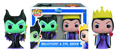 Image: Mini-Pop Figures: Maleficent and Evil Queen
