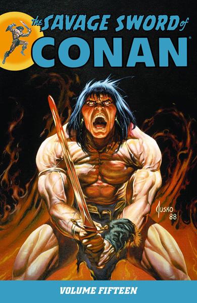 Savage Sword of Conan Volume 15