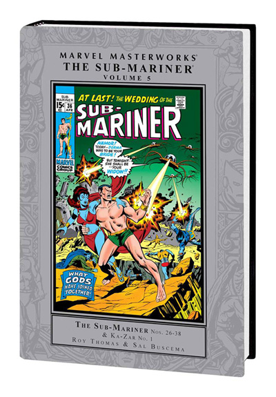 Marvel Masterworks: Sub-Mariner Volume 5