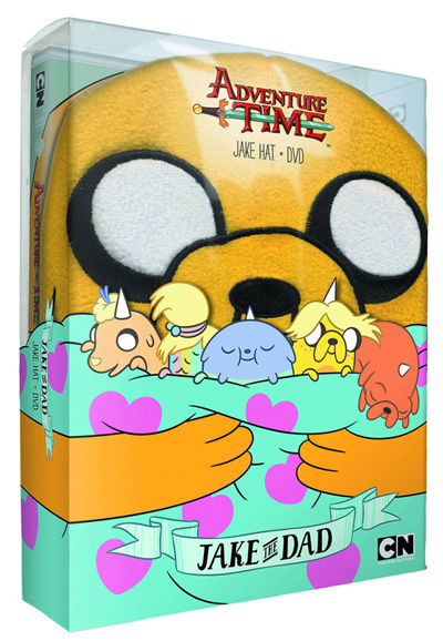Image: Adventure Time: Jake the Dad - Jake Hat and DVD  -