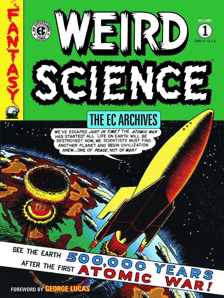 EC Archives: Weird Science Volume 1