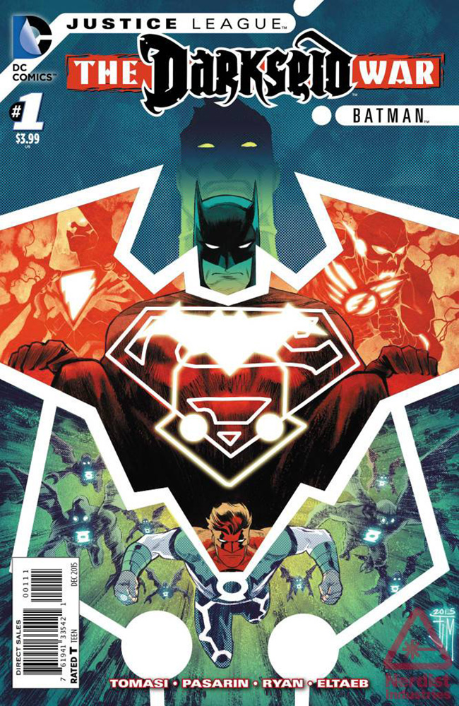 Justice League: Darkseid War: Batman #1. Justice League title? Batman title? This is so confusing.