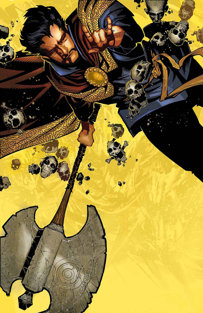 Doctor Strange #1 by Jason Aaron and Chris Bachalo