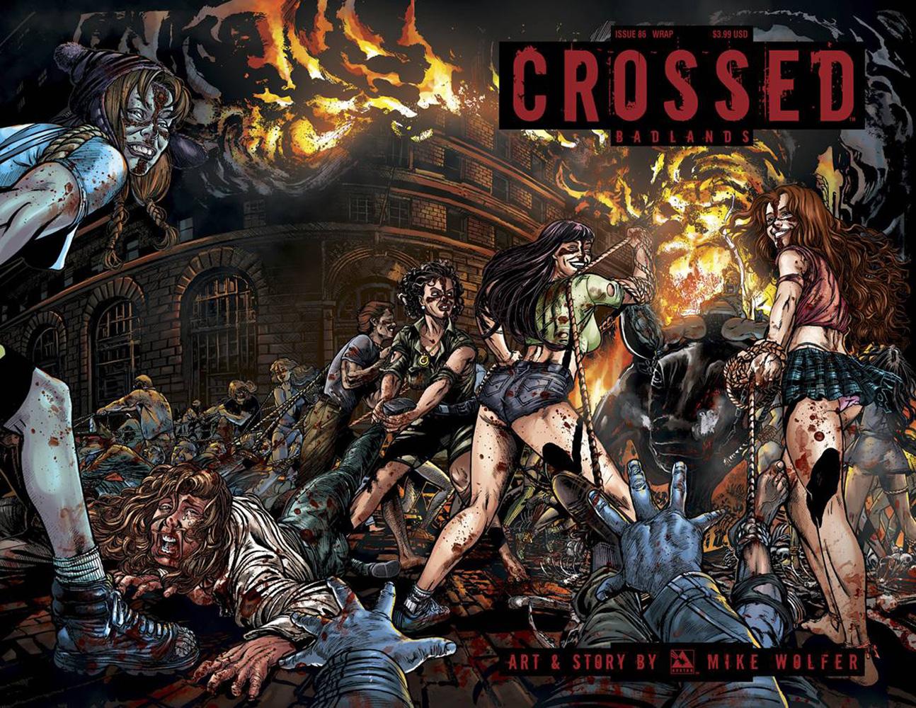 crossed  badlands  86  variant cover