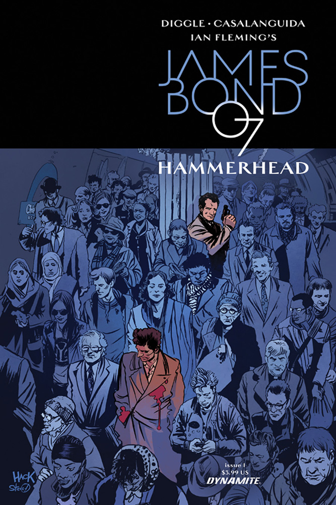 James Bond: Hammerhead #1 Robert Hack cover