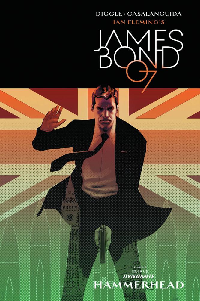 James Bond: Hammerhead #1 Ron Salas cover