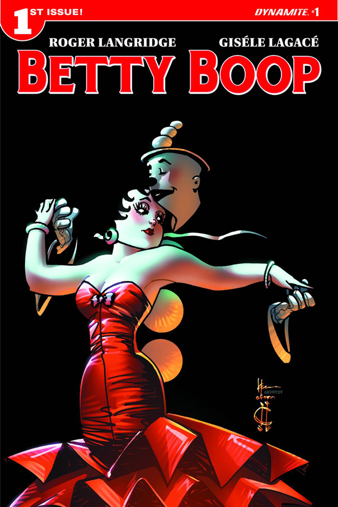 Betty Boop #1 cover by Howard Chaykin