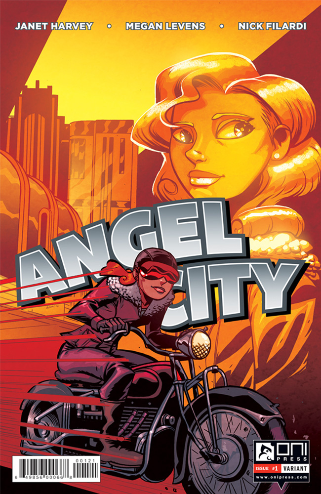 Angel City #1 Michael Avon Oeming cover