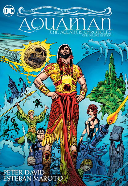 Aquaman: The Atlantis Chronicles Deluxe Edition HC