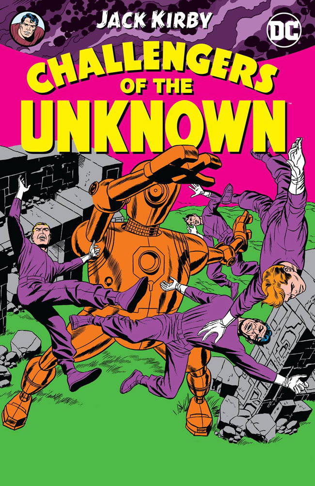 Image: Challengers of the Unknown by Jack Kirby SC  - DC Comics