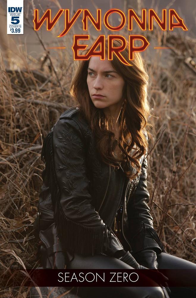 Wynonna Earp: Season Zero #5 photo cover.