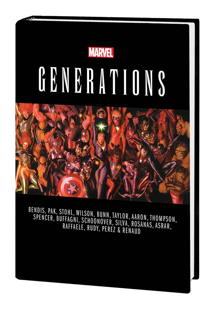 Image: Generations HC  - Marvel Comics