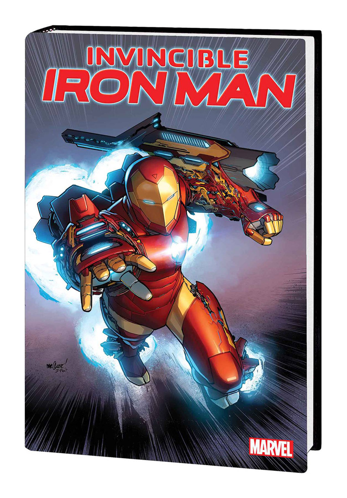 Image: Invincible Iron Man by Brian Michael Bendis HC  - Marvel Comics
