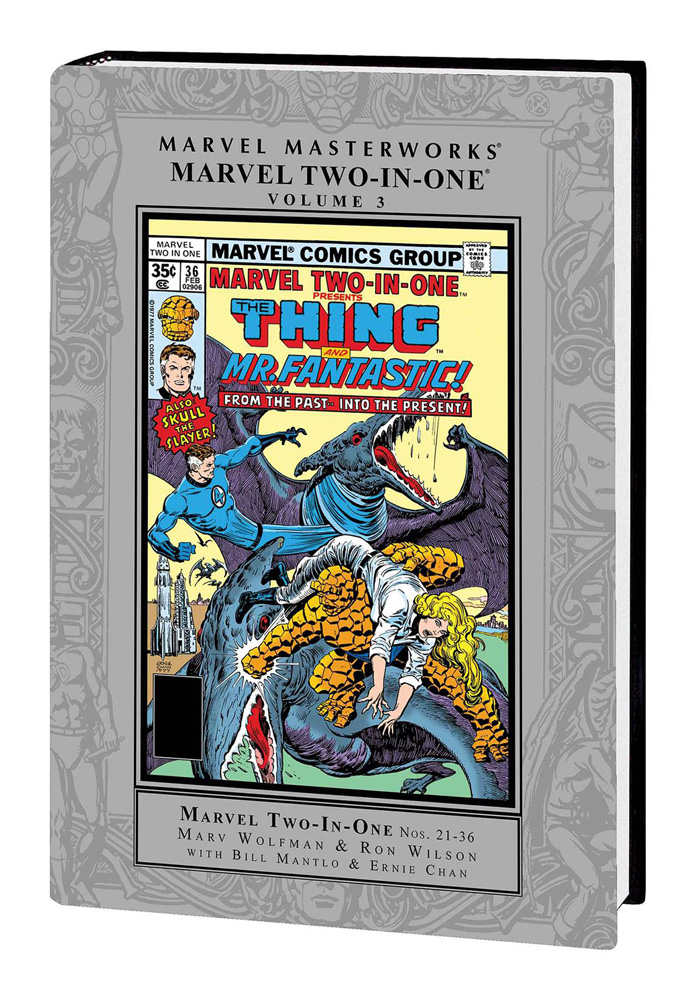 Image: Marvel Masterworks: Marvel Two-in-One Vol. 03 HC  - Marvel Comics