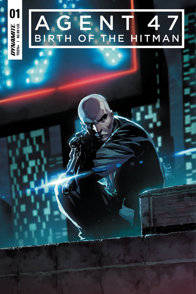 Agent 47: Birth of the Hitman #1 Philip Tan cover