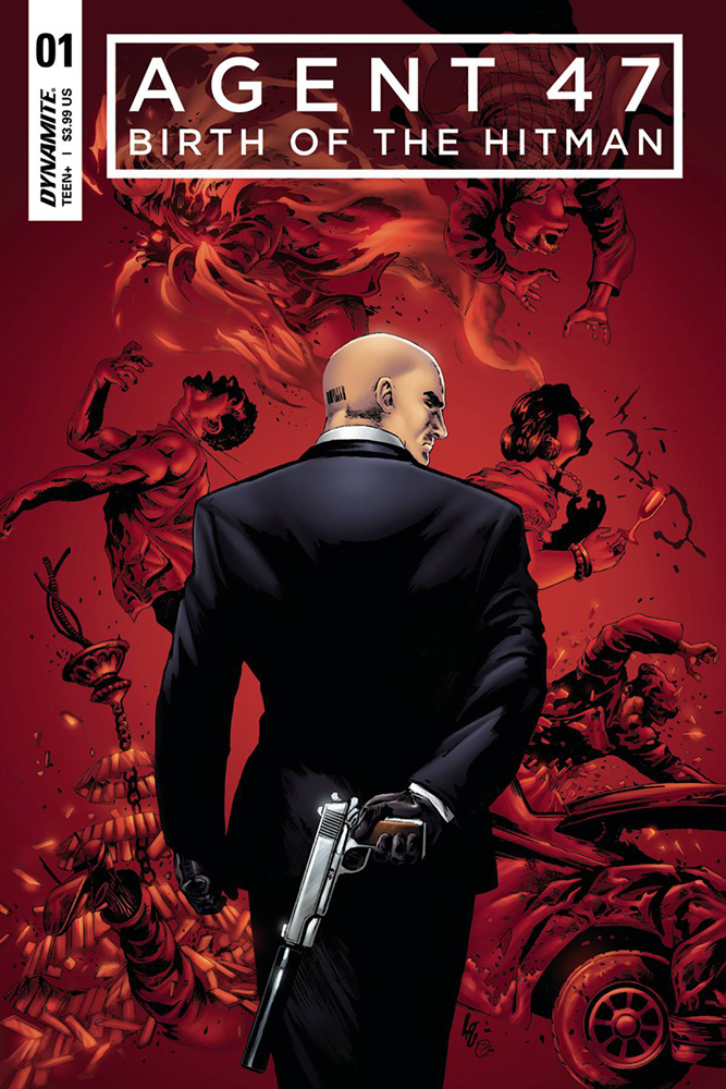 Agent 47: Birth of the Hitman #1 Jonathan Lau cover