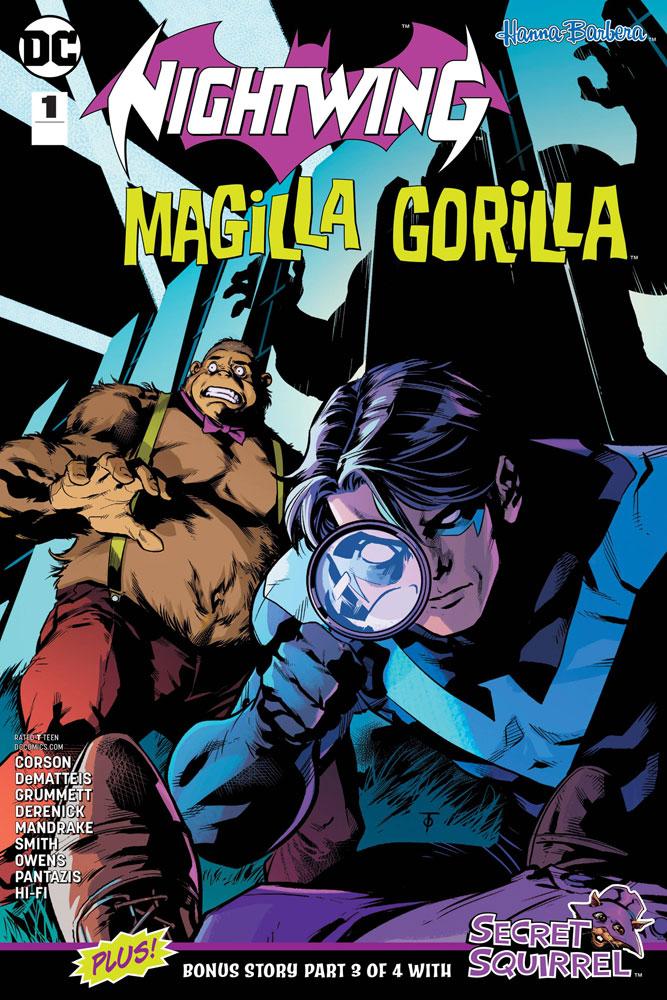 Nightwing/Magilla Gorilla #1