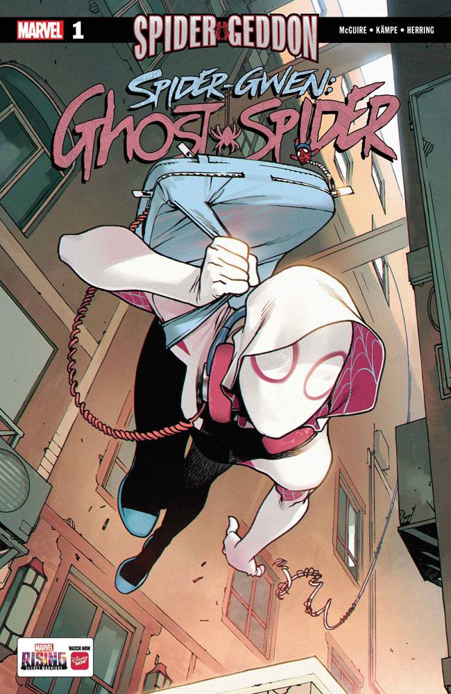 Spider-Gwen AKA Ghost Spider