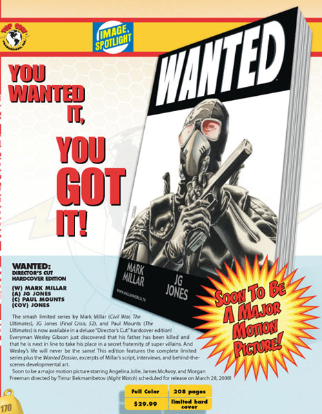 Image: Wanted - Assassin's Edition HC  - Image Comics