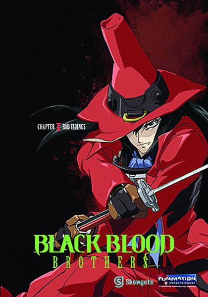 Image: Black Blood Brothers Vol. 01: Bad Tidings DVD  -