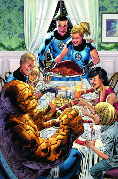 Fantastic Four #564 cover by Bryan Hitch