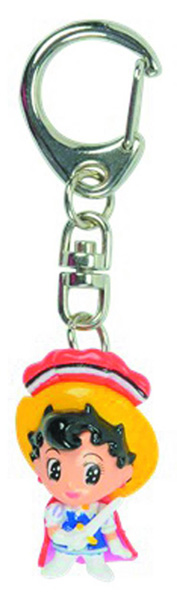 Princess Knight Figural Keychain  -