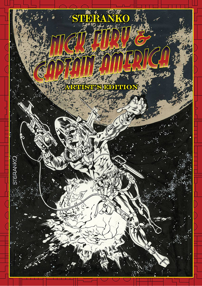 Steranko Nick Fury and Captain America: Artist's Edition