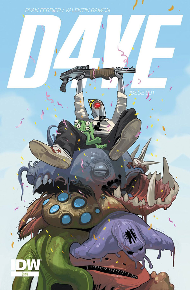 D4VE #1 cover by Fiona Staples