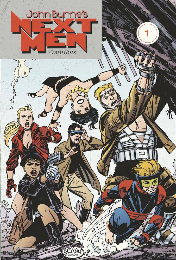 John Byrne's Next Men Omnibus Vol. 1