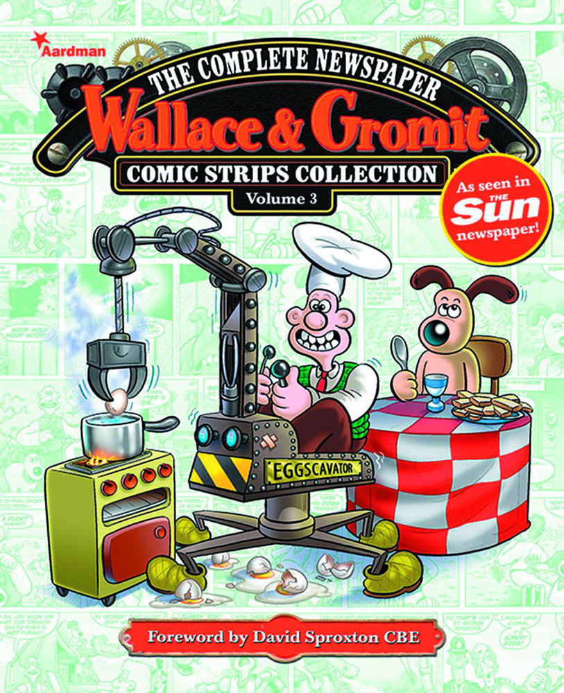 Wallace and Gromit Newspaper Strips Volume 3