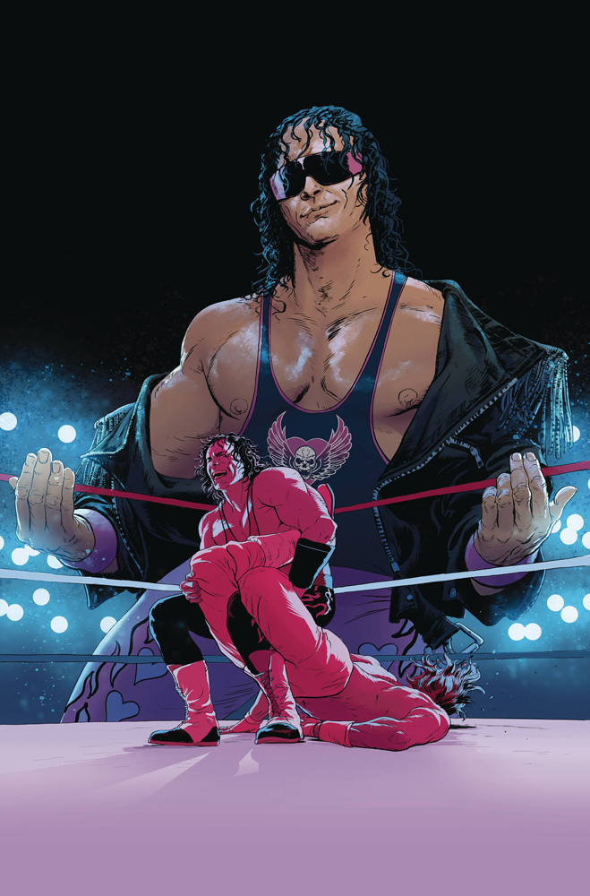 WWE #2 Variant cover
