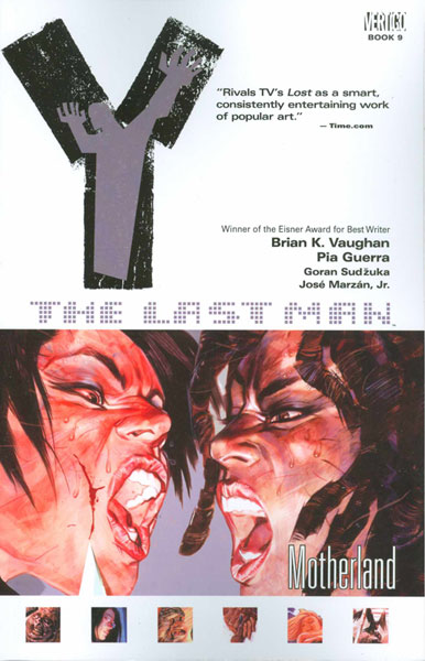 Image: Y: The Last Man Vol. 09: Motherland SC  - DC Comics