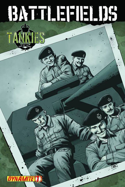 Image: Battlefields: Tankies #1 - D. E./Dynamite Entertainment