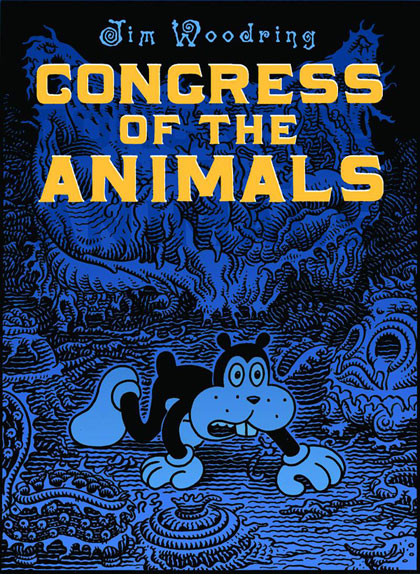 Image: Congress of the Animals HC  - Fantagraphics Books