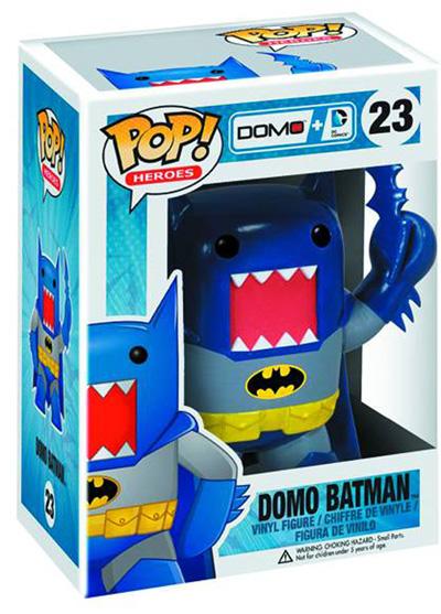 Pop! Domo + DC Comics Vinyl Figure: Batman  (Blue version) - Dc Heroes Collectibles & Novelties