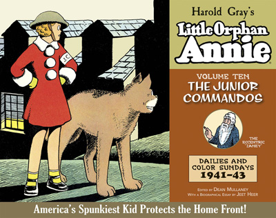 The Complete Little Orphan Annie Volume 10