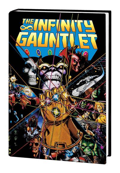 Infinity Gauntlet Omnibus Perez Cover